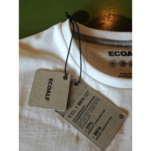 T-SHIRT Ecoalf White Woman Size L