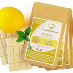 Chewing gum gusto Limone di Sicilia