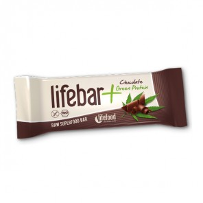 Lifebar Plus - Cioccolato + Proteine Verdi